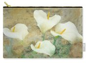 Four Lilies Carry-all Pouch
