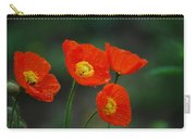 Four Poppies Carry-all Pouch