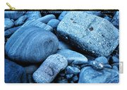 Four Rocks In Blue Carry-all Pouch
