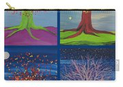 Four Seasons Trees By Jrr Carry-all Pouch