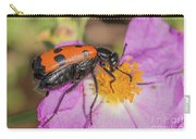 Four-spotted Blister Beetle - Mylabris Quadripunctata Carry-all Pouch