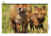 Fox Family Carry-all Pouch