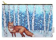Fox Forest Carry-all Pouch