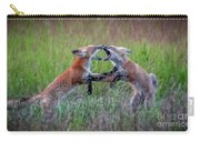 Fox Kitts Playing Carry-all Pouch