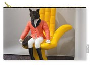 Fox On Hand Chair Carry-all Pouch
