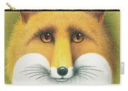 Fox Portrait Carry-all Pouch