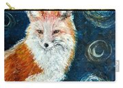 Fox Red  Painting  Carry-all Pouch