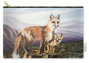 Foxes   Fundamental Foresight Foundation  Carry-all Pouch