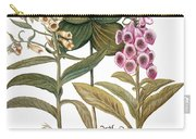 Foxglove And Herb Paris Carry-all Pouch