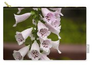 Foxglove At The Getty - Digitalis Carry-all Pouch