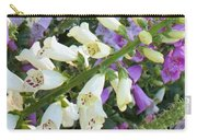 Foxglove Fancy Carry-all Pouch