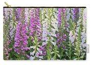 Foxglove Garden - Digital Art Carry-all Pouch