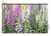Foxglove Garden - Vertical Carry-all Pouch