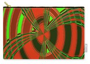 Foxglove In Arizona Abstract #2 Carry-all Pouch