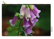 Foxgloves In The Rain Carry-all Pouch