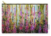 Foxgloves Large Painting Carry-all Pouch