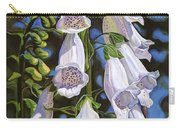 Foxgloves Carry-all Pouch