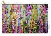 Foxgloves Panel Two Carry-all Pouch