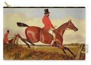 Foxhunting - Clearing A Bank Carry-all Pouch