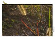 Foxtail Glowing In Sun Carry-all Pouch