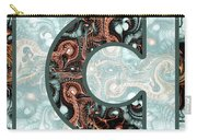 Fractal - Alphabet - C Is For Complexity Carry-all Pouch