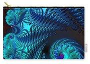 Fractal Art - Blue Wave Carry-all Pouch