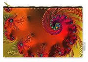 Fractal Art - Breath Of The Dragon Carry-all Pouch