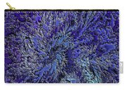 Fractal Blues Carry-all Pouch