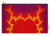 Fractal Burning Heart Carry-all Pouch