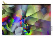 Fractal Cubism Carry-all Pouch