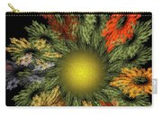 Fractal Floral 12-05-09 Carry-all Pouch