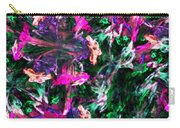 Fractal Floral Riot Carry-all Pouch