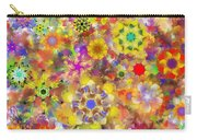 Fractal Floral Study 2 Carry-all Pouch