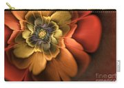Fractal Pansy Carry-all Pouch