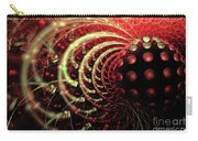 Fractal Solar Flare Carry-all Pouch