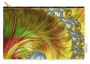 Fractal Spiral Three Carry-all Pouch