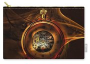 Fractal Time Carry-all Pouch by Richard Ricci