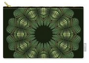 Fractal Wreath-32 Spring Green T-shirt Carry-all Pouch