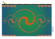 Fractal Yin And Yang Carry-all Pouch