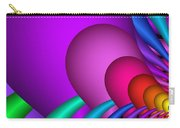 Fractalized Colors -1- Carry-all Pouch by Issabild -