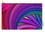 Fractalized Colors -3- Carry-all Pouch by Issabild -