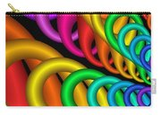 Fractalized Colors -5- Carry-all Pouch by Issabild -