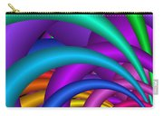 Fractalized Colors -6- Carry-all Pouch by Issabild -
