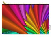 Fractalized Colors -7- Carry-all Pouch by Issabild -