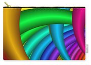 Fractalized Colors -9- Carry-all Pouch by Issabild -