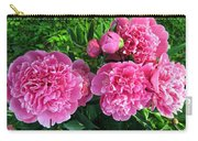 Fragrant Pink Peonies Carry-all Pouch