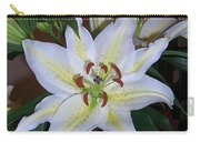 Fragrant White Lily Carry-all Pouch