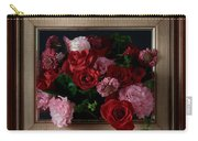 Framed Bouquet Of Flowers Carry-all Pouch
