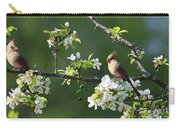 Framed Cardinals In Spring Carry-all Pouch