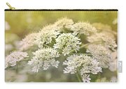 Framed Cow Parsley Carry-all Pouch